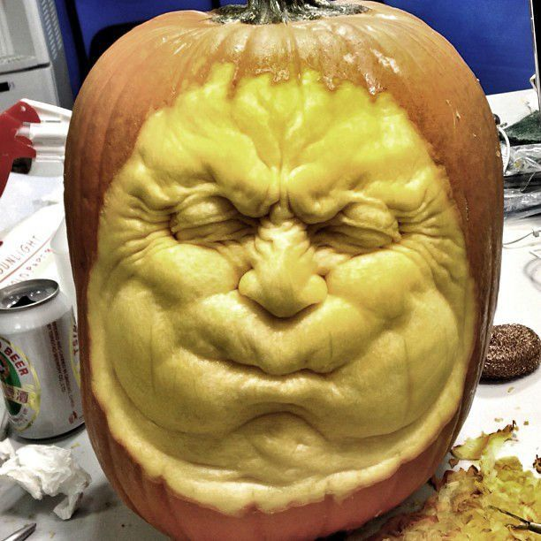 Best Halloween Pumpkins Images On Pinterest Halloween - Mind blowing pumpkin carvings by ray villafane 2
