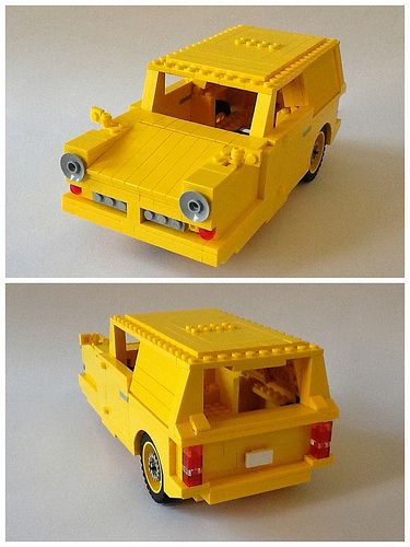 #LEGO Reliant Robin Like the one in 'only fools and horses'