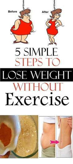 SIMPLE STEPS TO LOSE UP TO 10KG WITHOUT EXERCISE