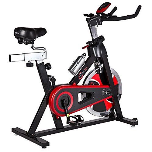 We R Sports Aerobic Training Cycle Exercise Bike Fitness Cardio Workout Home Cycling Racing Machine - Black