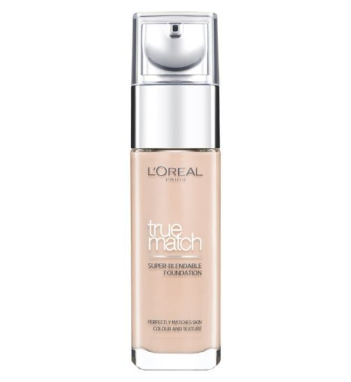 LOréal Paris True Match Foundation 30ml - Boots - £9.99 (has LOADS of different undertones and whatnot, get 6 shades; light, med, dark with both undertones)