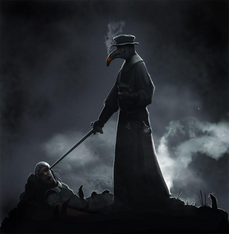 картинка черного доктора