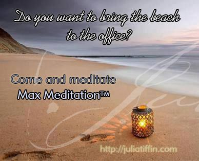 Max MeditationTM combines a full spectrum of meditation techniques for a truly revitalising experience. It uses breathing, deep-body relaxation, as well as passive, active and guided meditation. No experience is needed. Anyone, including practiced meditators, can experience the deep relaxation and rejuvenation with this system. juliatiffin.com #returntothesacred