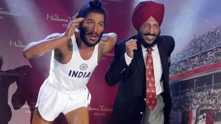 Milkha Singhs wax statue unveiled in Chandigarh