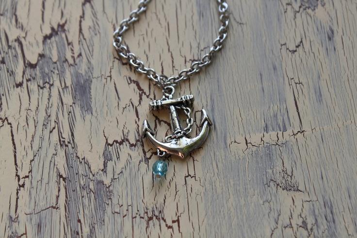Anchor Necklace - Antique Silver - Nautical. $16.00, via Etsy.: Antiques Silver, Anchors Necklaces, Necklaces Antiques, Ancor Necklaces, Silver Nautical, Style Pinboard, Anchor Necklace, Antique Silver