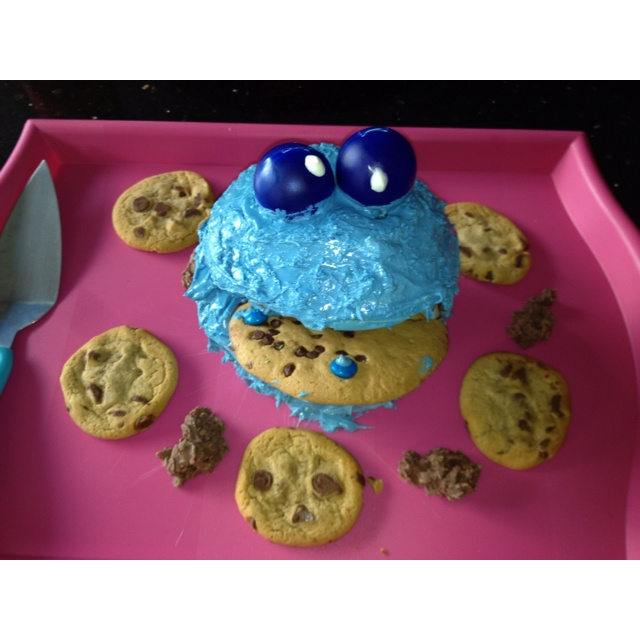 Describe tu pin...Cookie Monster