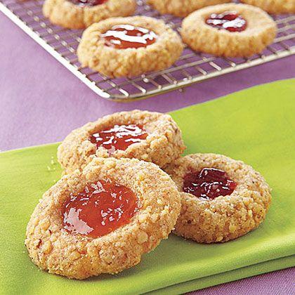 Thumbprint Cookies | MyRecipes