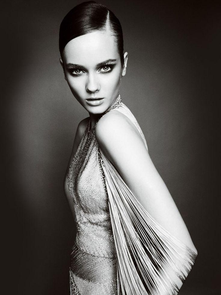 Atelier Versace Fall 2010 Lookbook   Monika Jagaciak