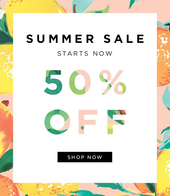 Punch | Loeffler Randall Summer Sale Email Design