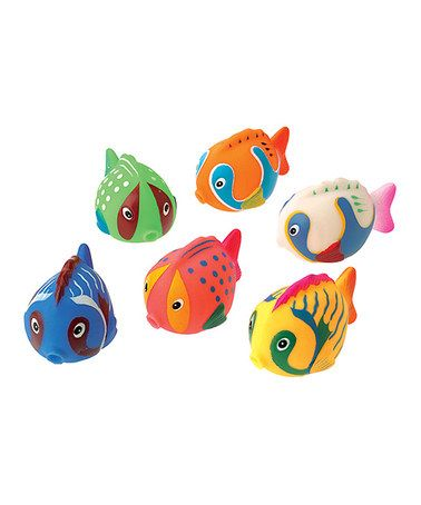 Another great find on #zulily! Jumbo Fish Squirter - Set of 12 #zulilyfinds