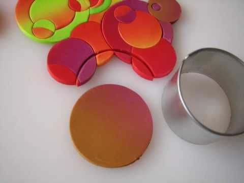 ▶ Plato decorativo de arcilla polimérica - YouTube
