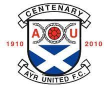 ayr united badge centenary