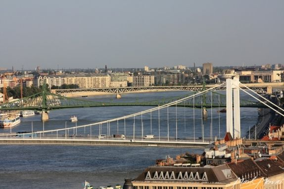 Budapest Bridges. - There are eight bridges in Budapest that span the Danube. Following are some of the most beautiful historic bridges along with two of the newer ones.