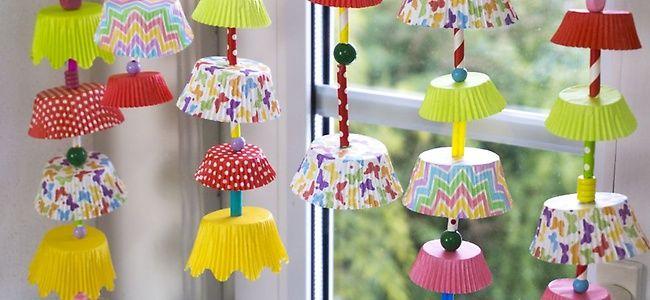 Windlichter aus Tüten