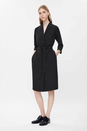 <3 Long blazer dress