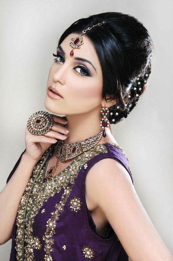 Asian Bridal Hairstyle : 50 best south asian bridal hairstyles. images on pinterest