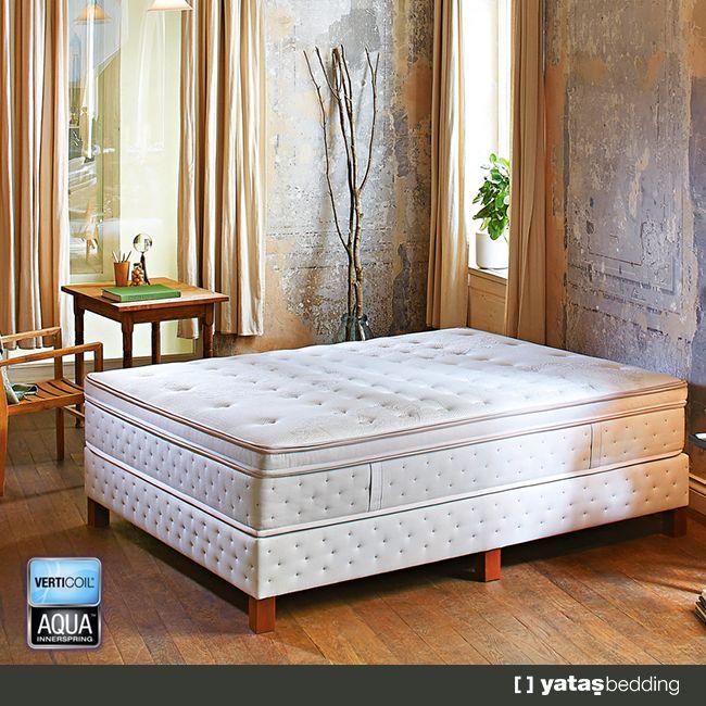 #Verticoil #Aqua #Yatak ile kadınların içi temizlik konusunda artık daha rahat. #Çıkarılabilir ve #yıkanabilir üst kılıfı, istediğiniz an yatağınızı temizleme imkanı sağlar.