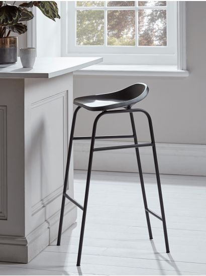 Workers' Stool - Black
