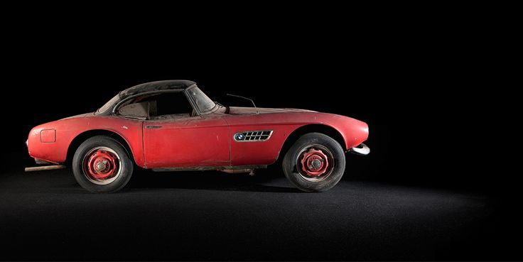 Elvis' long lost BMW 507 roadster has been recovered, and is being restored by BMW itself