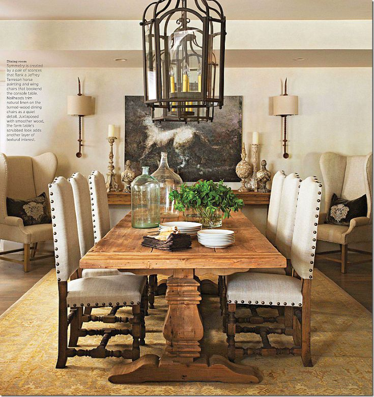 Joseph Abboud's home in Traditional Home (totally done with Restoration Hardware furniture)