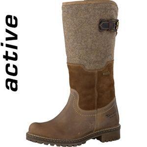 Tamaris 26432-23 Leather/Textile Boot  Buy online at www.schoose.co.uk