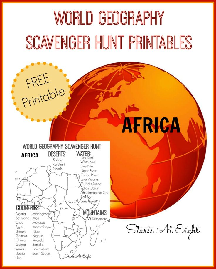 Africa Unit Study – Eclectic Homeschooling