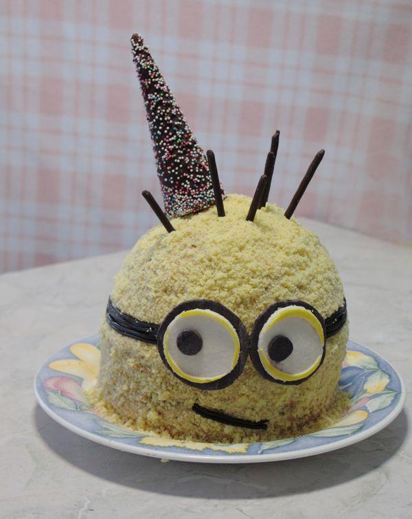 Torta Minion Cattivissimo Me - Despicable Me