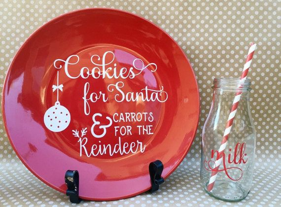 Cookies for Santa and Carrots for the by ShopFrillsBoutique