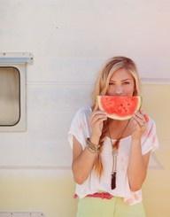 watermelon smile