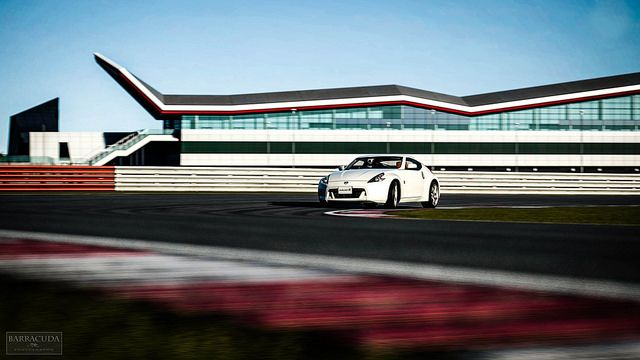 Silverstone Stowe Circuit  exect where GT Academy takes place and one of the task is clear driving in 370Z. Thank You GT academy You game chance to drive 370Z and 550hp GTR on Silverstone National circuit in 2012