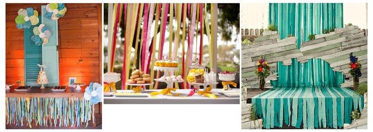 Pille és Alabástrom | színes ötletek, ötletes színek: Designfortélyok 4. - olcsó és ötletes esküvői dekoráció szalagokkal könnyedén