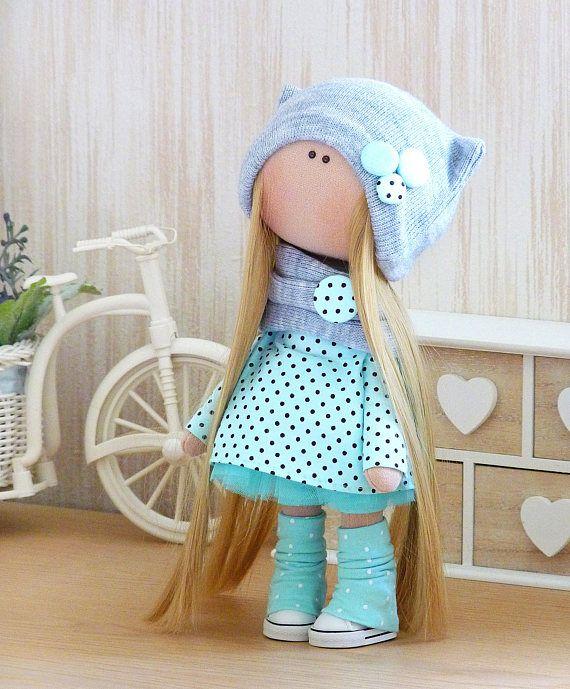 Arte textil de Tilda muñecas sólo muñeca Interior chica textil