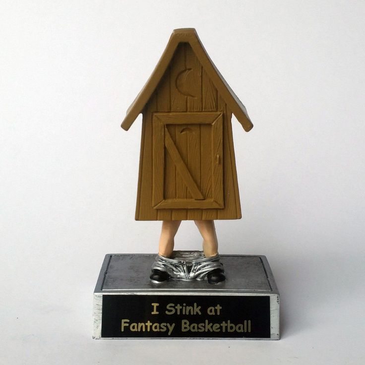 Outhouse Award  Fantasy Football - Last Place Trophy