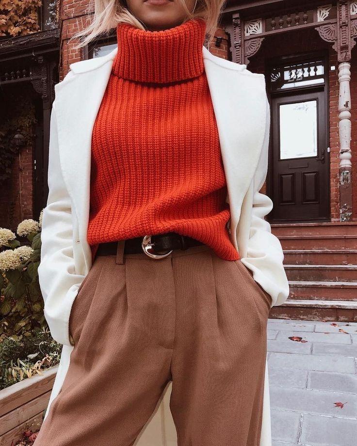 30+ gemütliche Winter stilvolle Outfit-Ideen für…