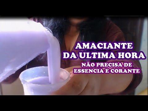 #SUPER-AMACIANTE CONCENTRADO E ECONÔMICO P/ O MÊS TODO / Elisangela Evaristo - YouTube