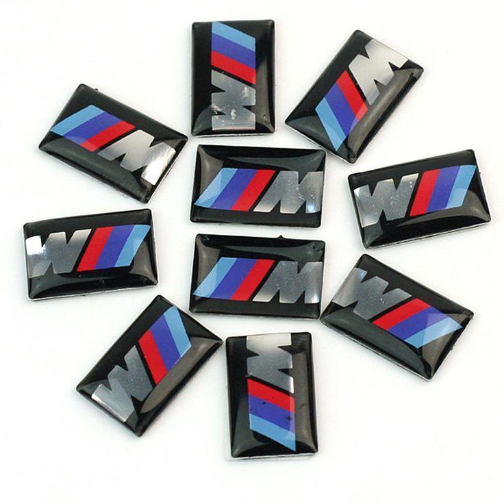 10pcs/lot Self-Adhesive Tec Sport Wheel Badge 3D Emblem Sticker Decals Logo Car Stickers for BMW M Series M1 M2 M3 M5 M6 New //Price: $5.99 & FREE Shipping //     #hashtag1