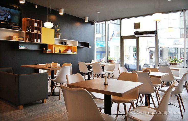 Interior pizzeria flavours, MDF vopsit lucios.