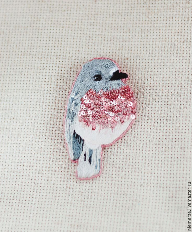 Brilliant breast birdie brooch!