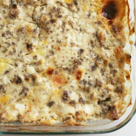 Hissy Fit Dip - White Lights on Wednesday  Ingredients     sour cream, cream cheese,Velveeta,Muenster cheese, pork sausage, Worcestershire sauce,onion powder, dried ground sage