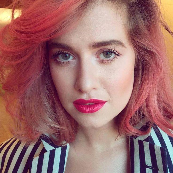 Emma Smetana Pink lips Koki9 makeup