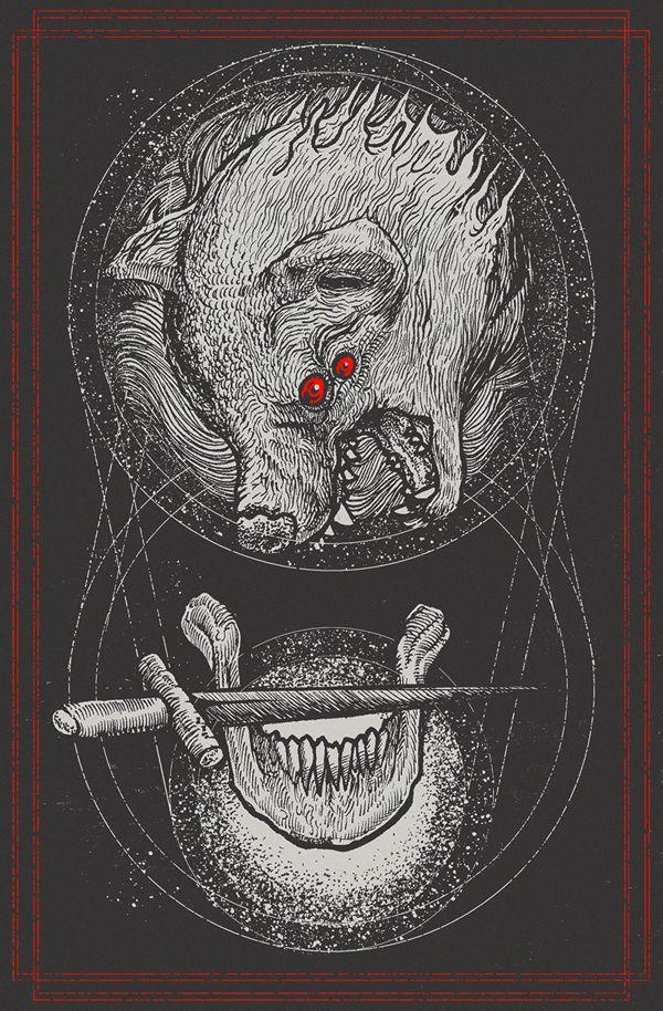 Lone Wolves of Self Destruct by Pestmeester Artworks, via Behance