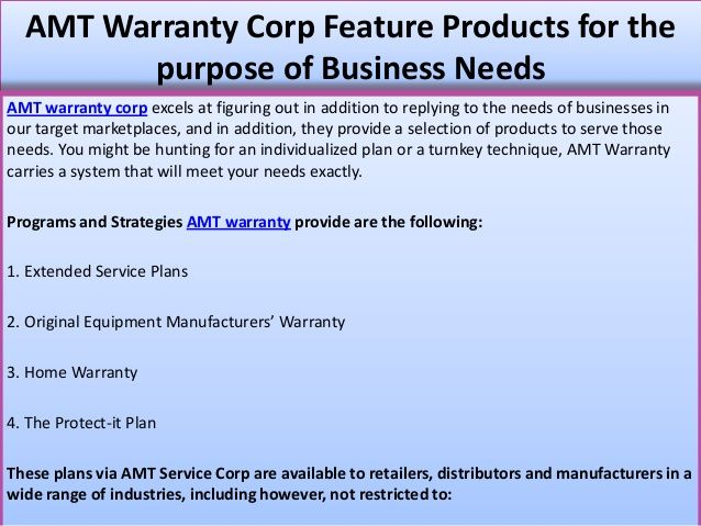 18 best AMT Warranty Corp USA images on Pinterest Small businesses