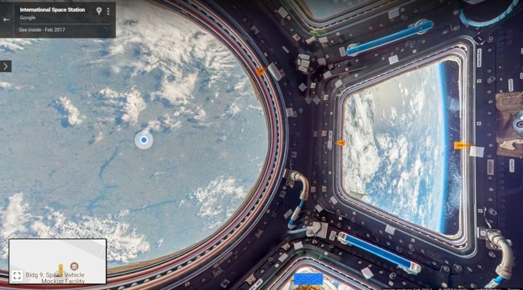 You can now explore the International Space Station with Google Maps Street View