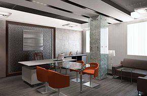 Офис компании 100 м2. Architect Irina Richter. INSIDE-STUDIO Prague