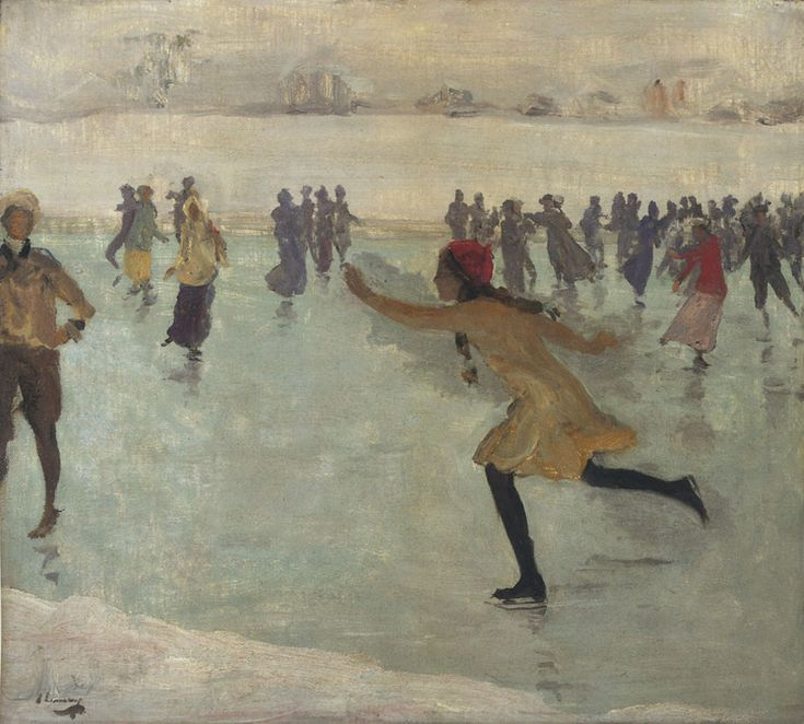 'The Skater' by John Lavery, 1912