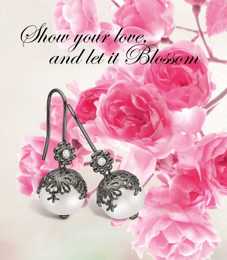 www.blossomcopenhagen or www.houseofjew.com Danish designed jewellery by Christina Elbro Lihn - show your love and let it Blossom....