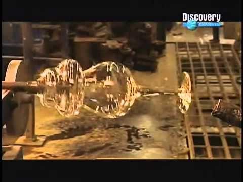 Así se fabrican las copas de Cristal