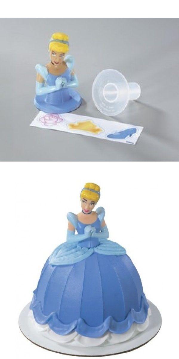 Peachy Cake Toppers 183341 Decopac Disney Cinderella Cake Topper Birthday Cards Printable Inklcafe Filternl