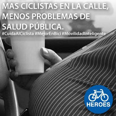 CALIDIGITAL Campaña ciclistas #Salud #MejorEnBici