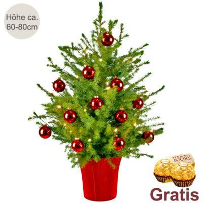 weihnachtsbaum holiday mit lichterkette 2 ferrero rocher. Black Bedroom Furniture Sets. Home Design Ideas